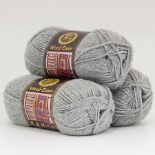 Lion Brand Yarn 620-151 Wool-Ease Yarn, Grey Heather (Pack of 3 skeins)