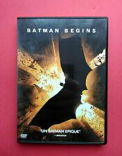 BATMAN BEGINS - CAINE - BALE - DVD - VF