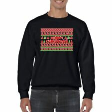Hilarious Mens Printed Sweatshirts gift-Merry Christmas Pattern- tshirts
