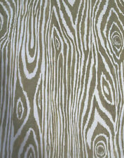 Pottery Barn Set Of 4 NWOT Placemats 100% Cotton Nature Wood Grain Green & Ivory