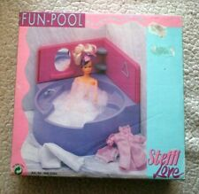 VTG MEGA RARE STEFFI LOVE FUN POOL! SPA, FITS BARBIE SIZE DOLLS! BRAND NEW!