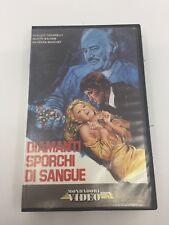 BLOOD & DIAMONDS - 1977 - VHS - PAL - Mondadori Video Label - ITALY - ULTRA RARE