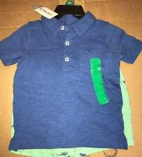 NWT Carters Boy 2 Piece Set Polo T-Shirt and Shorts Size 4T