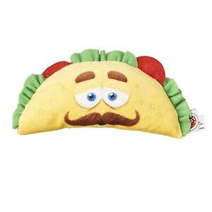 "SPOT Fun Food Taco 6"" Soft Plush Dog Toy 54421, Multicolor Multi New"