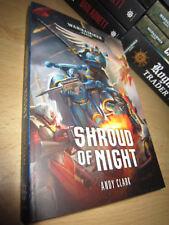 Andy Clark SHROUD OF NIGHT 1st/PB MINT Warhammer 40K Chaos Space Marine Novel