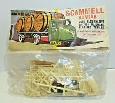 Model Railway 00 Gauge Early Bagged  Airfix Scammell Scarab Plastic Kit