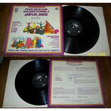 SERGE FRANKLIN - Rendez Vous A Jaipur Rare LP Library Psych Sitar NM