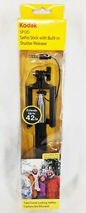 Kodak SP120 Selfie Stick with Built-in Shutter Release Extends up to 42 inches