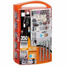 Mini Perceuse Multifonctionnel Avec 350 Accessoires Et Arbre Flexible 99423