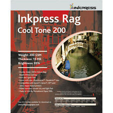 "Inkpress Media Rag Cool Tone 200 Paper (4 x 6"", 50 Sheets)"