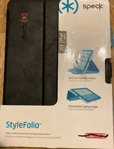 Speck StyleFolio iPad AIR Case Black/ Poppy Red SPK-A2279 NEW Anti Scratch