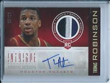 Thomas Robinson 2012-13 Intrigue *Rookie Patch Autograph* /10