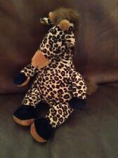 "Jellycat Vintage Beanie Giraffe 12"" Cuddly Soft Toy Plush Teddy Jelly Cat"