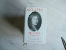 LA PLEIADE MOLIERE OEUVRES COMPLETES TOME 2 ED 1959