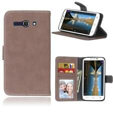 Luxury Flip Card Wallet Slots Leather Stand Phone Case Cover For Alcatel Models