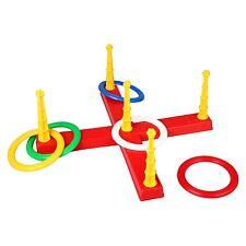 Androni 7510 Ringwurfspiel Wurfspiel Kreuz mit 5 Ringen