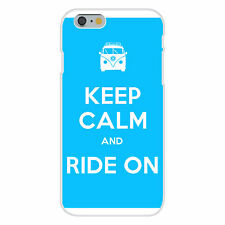 Keep Calm and Ride On Hippie Van FITS iPhone 6+ Plastic Snap On Case Cover New