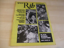 Spare Rib Women's Liberation Feminist Magazine Number 87 October 1979