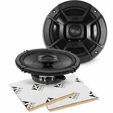 "Polk Audio DB652 6.5"" 2-Way Marine Grade Coaxial Speakers FREE Sound Dampening"
