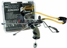 Barnett PRO DIABLO Powerful Hunting Slingshot Catapult + 250 x 6mm Ammo