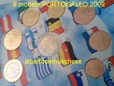 2009 PORTOGALLO 8 monete 3,88 euro FDC portugal 2 euro Lusophonia