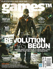 GAMES TM UK Issue 139 2013 Playstation 4 PS4 & XBOX ONE Latest Games