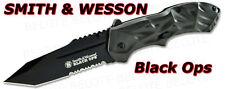 Smith & Wesson Black Ops 3 Tanto GREY Serratd SWBLOP3TS