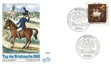 Germany 1983 FDC 1192 Day Stamp Pferd Horse