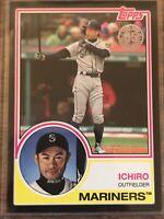 2018 Topps Update Series 1983 Design Black #83-27 Ichiro Suzuki 286/299