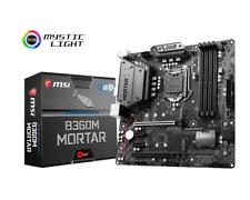 MSI b360m Mortar - mATX Placa base Intel Conector 1151 CPU