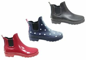 Jellies Molly Womens Comfortable Gum Boots Ankle Boots