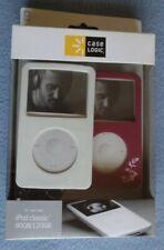 Pair (2) Case Logic iPod Classic Cover Case 80GB 120GB 5G Video 30GB Purple Pink