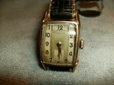 Vintage Hamilton Wrist Watch early 60s RR model 10K Gold filled