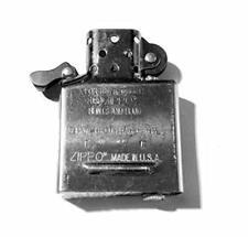 Zippo Inside Guts Silver Chrome No Outside Case Only Inside Insert For Lighter