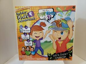 Pocket Watch Hobby Kids Adventures Will it OOZE or SPLASH Challenge Game- New