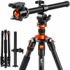 """K&F Concept Camera Tripod 78""""Monopod Lightweight with Extension Arm Ball Head"""