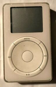 [Untested] Apple Ipod 5GB 1st Generation White M8541 Fast Ship Very Good Used 2