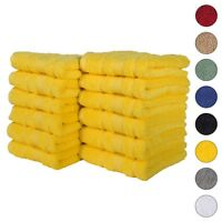 NEW YELLOW Color ULTRA SUPER SOFT LUXURY PURE TURKISH 100% COTTON HAND TOWELS