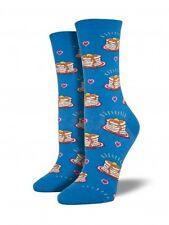 Pancake Breakfast Socksmith Casual Sock (6-10) - Blue
