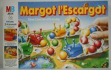 MARGOT L'ESCARGOT Jeu de société jouet vintage MB 1989