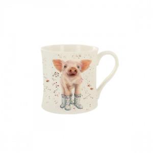 Bree Merryn China Mug Penelope Pig Boxed Dining Decor FREE UK Postage