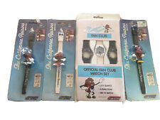 The California Raisins Wristwatch Nelsonic Vintage 1988 In Package 4 Watches