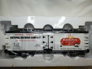 ATLAS O 3-RAIL NATIONAL BOHEMIAN BEER COMPANY 40' WOOD SIDE REEFER CAR