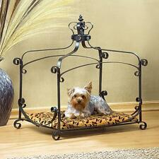 Royal Splendor Pet Metal Canopy Bed Small Dog Cat Puppy NEW