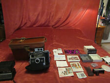 Polaroid Model 360 Land Camera Electronic Flash Carrying Case Accessories Manual