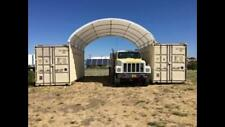 20x20 Shelter Cover Roof Building Conex Box Overseas Shipping Container Kit