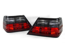 DEPO Euro Smoke Tail Brake Lamp Light Pair For 86-95 Mercedes Benz W124 E Class