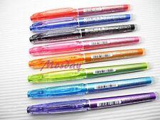 Pilot Frixion Erasable Roller Ball Pen 0.4mm Ultra Fine, 8 Colors set
