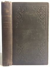 Antique Columbus Voyages Illustrated Washington Irving 1860 Christopher Original