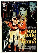 ERA NOTTE A ROMA (1960) * with switchable English and Spanish subtitles *